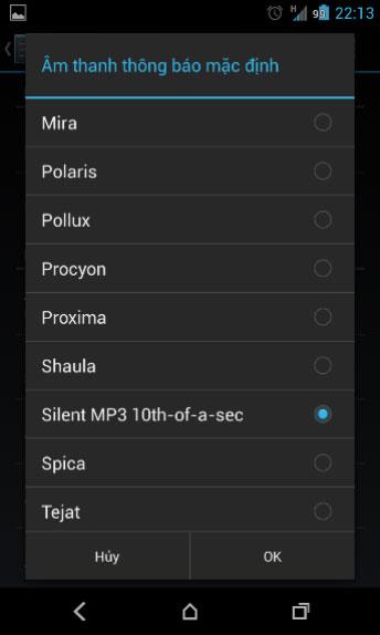 Cách tắt toàn bộ âm báo trên Android