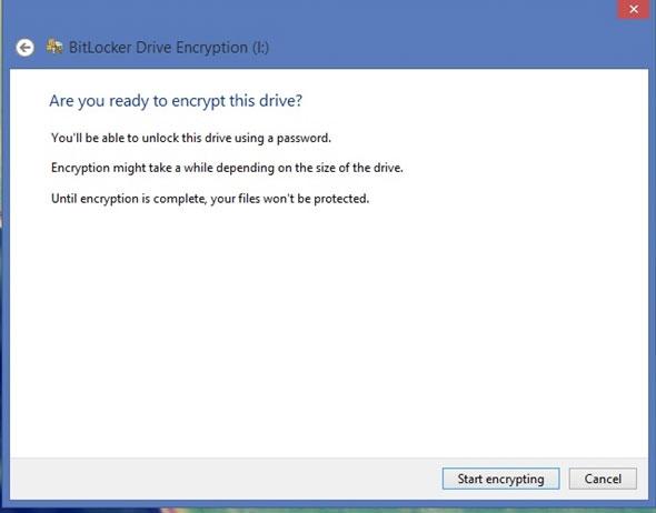 Hướng dẫn mã hóa và thiết lập mật khẩu bảo vệ cho USB trong Windows 8