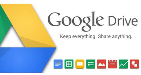 Google Drive 15 GB thách thức Dropbox, iCloud