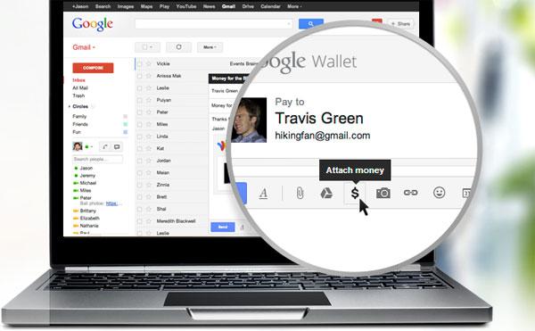 Google ra mắt tính năng cho phép gửi tiền qua Gmail