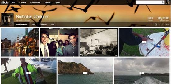 Flickr đổi giao diện, cung cấp tới 1 terabyte miễn phí