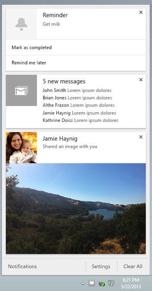 Google thử nghiệm thanh thông báo cải tiến trên Chrome