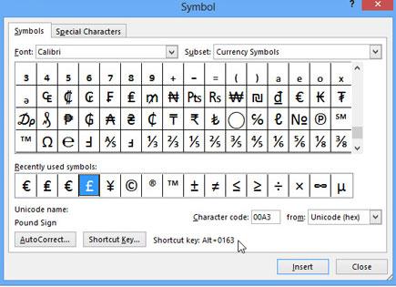 Cách sử dụng biểu tượng trong Microsoft Word 2013