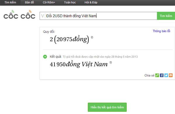 Công cụ tìm kiếm thuần Việt Cốc Cốc khiêu chiến Google?