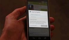 Google Play Store chấp nhận thanh toán bằng Paypal