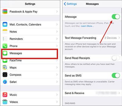 Tắt hoàn toàn iMessage trên thiết bị Apple
