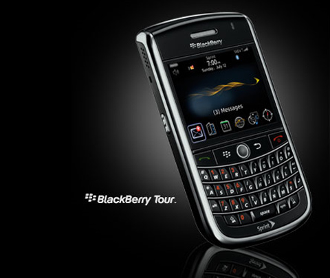 The new BlackBerry Tour smartphone launched on the Sprint Network last month...