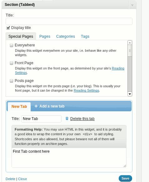 Thêm Widget động vào blog WordPress không cần dùng code