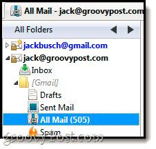 Nhập email từ Gmail tới Google App bằng Outlook,Thunderbird