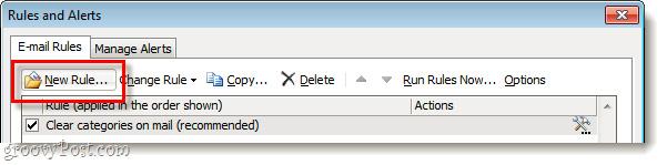 Tự động chuyển email Important thành Normal trong Microsoft Outlook 2010