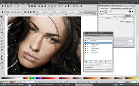 Inkscape software