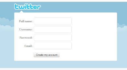 Tạo tài khoản Twitter