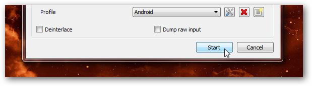 Tùy chỉnh kích thước video phù hợp với điện thoại Android bằng VLC