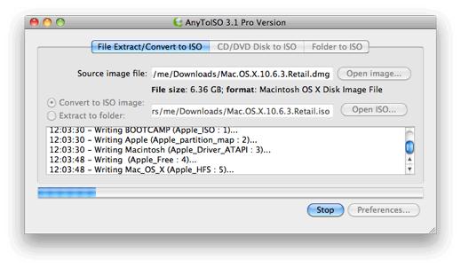 Chuyển đổi tập tin BIN sang định dạng ảnh đĩa ISO