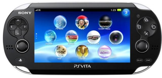 may choi game cam tay PS Vita mới được bán