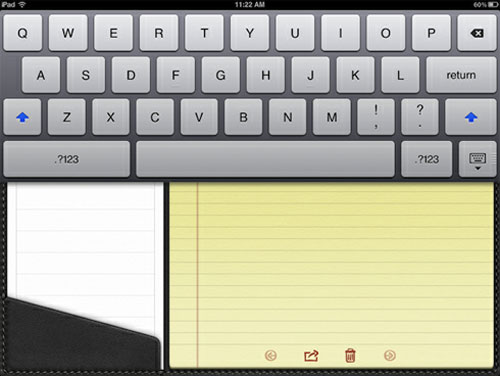 Những phím tắt thú vị cho bàn phím iPad