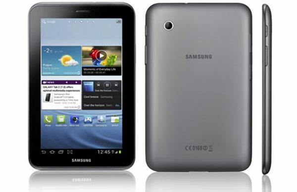 Bộ đôi Galaxy Tab 2 sắp bán ở Việt Nam