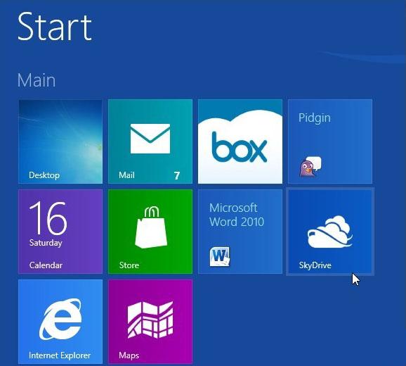 Hướng dẫn lưu tài liệu Office mặc định lên SkyDrive