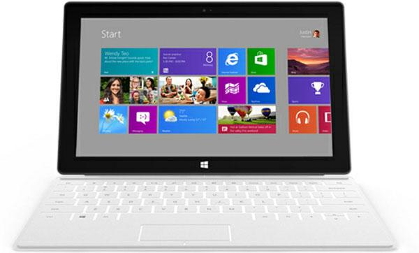 Microsoft trình làng tablet Windows 8