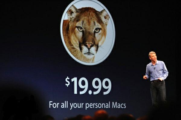 OS X Mountain Lion lợi thế hơn Windows 8 về giá