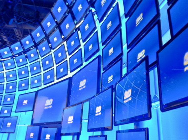 Doanh số tivi LCD lần đầu tiên sụt giảm