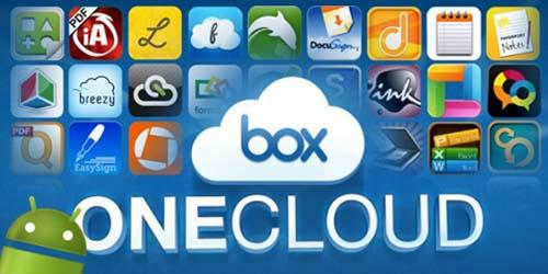 Dịch vụ lưu trữ trực tuyến Box hỗ trợ Onecloud cho Android