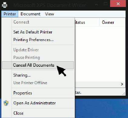 Cách hủy lệnh in trong Windows 8 - Quantrimang com