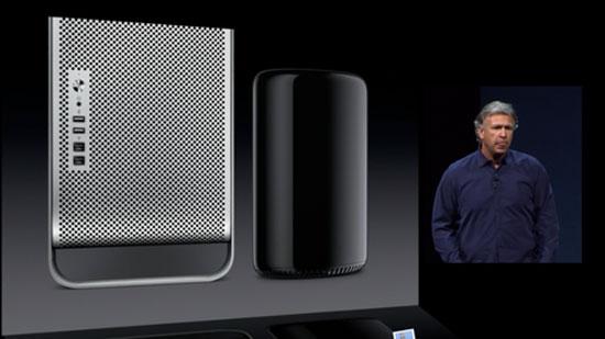 Apple ra mắt Mac Pro 2013 với thiết kế trụ tròn lạ kỳ