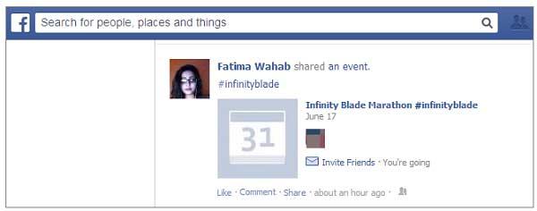 Sử dụng Hashtag trên, Facebook hiệu quả