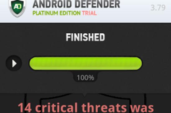 Phát hiện phần mềm tống tiền thiết bị Android