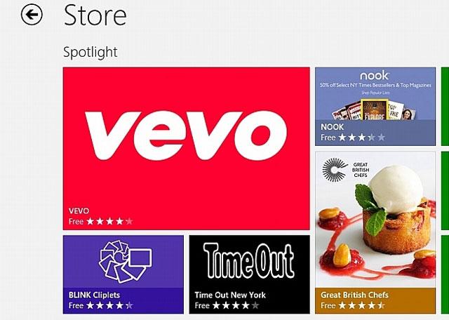Windows Store tiến tới mốc 100.000 ứng dụng