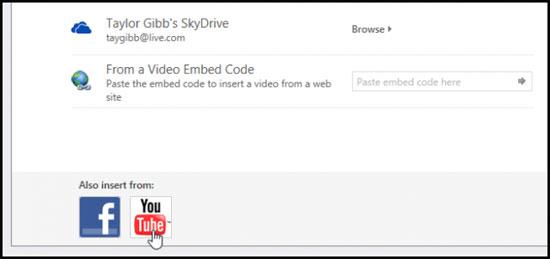 Hướng dẫn chèn video Youtube vào PowerPoint Presentation trong Office 2013