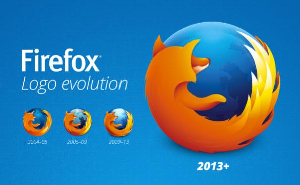 Firefox ra mắt logo mới theo thiết kế phẳng cùng phiên bản 23 Beta