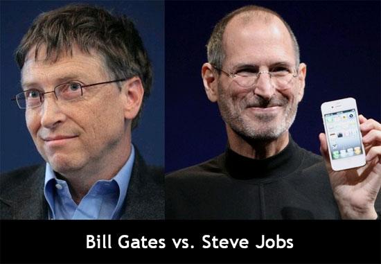 Những điểm chung của Bill Gates và Steve Jobs