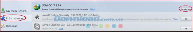 Sửa lỗi IDM tự động tải nhạc trên các trình duyệt