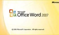 Chinh phục Word 2007