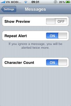 15 mẹo sử dụng iPhone 4 và iOS 4 1