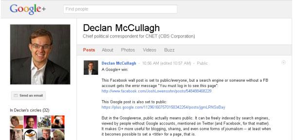 Vọc Google+ khi không có thư mời