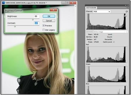 Mẹo sử dụng độ tương phản trong Photoshop