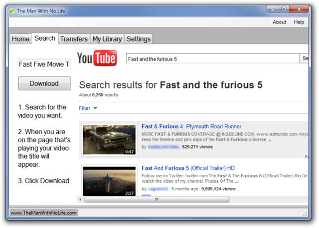 Tải và quản lý video YouTube dễ dàng