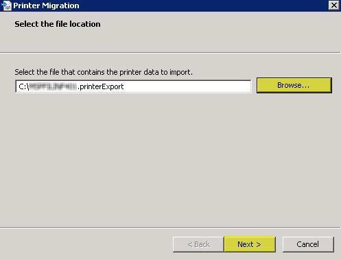 Chuyển máy in từ Server 2003 x32 sang Server 2008 R2 x64