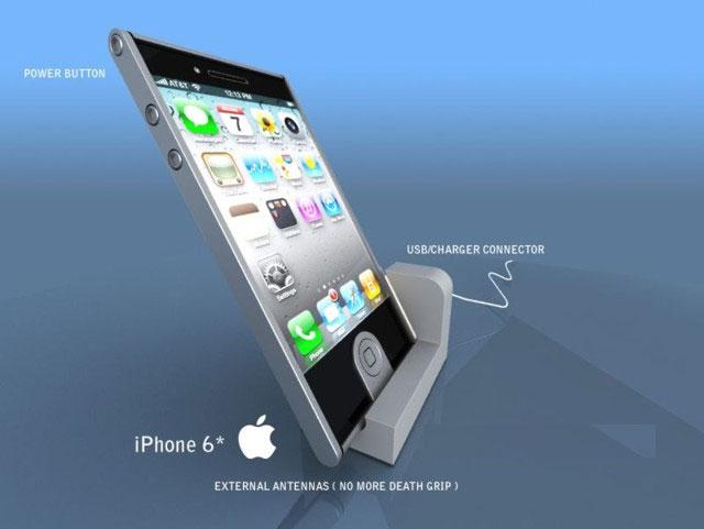 """""""Rộn ràng"""" tin đồn iPhone 6 sạc pin cảm ứng"""