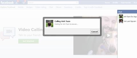 Cách thực hiện cuộc gọi video trên Facebook