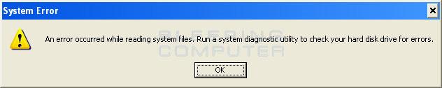Một số hình ảnh của chương trình giả mạo Windows Recovery