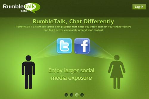 Chèn thêm khung chat cho web với RumbleTalk