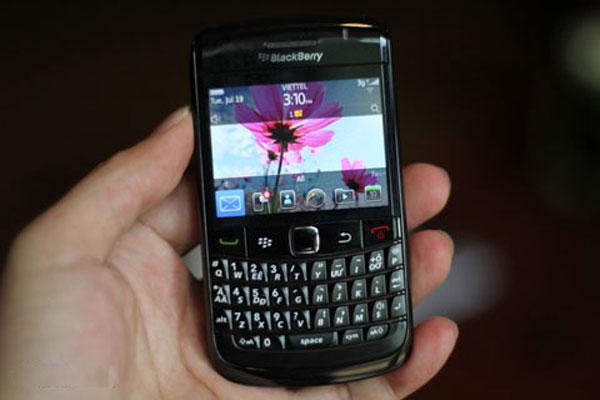 RIM ra BlackBerry 9780 bàn phím Việt