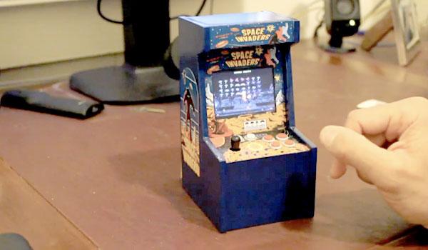 Máy game thùng nhỏ nhất thế giới