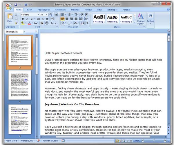 9 mẹo nhỏ về Microsoft Office nên biết