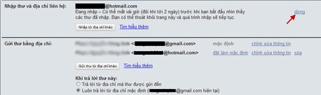 Để Gmail thành hòm thư mặc định của nhiều địa chỉ email