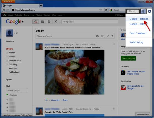 Xoá tài khoản Google+ của bạn